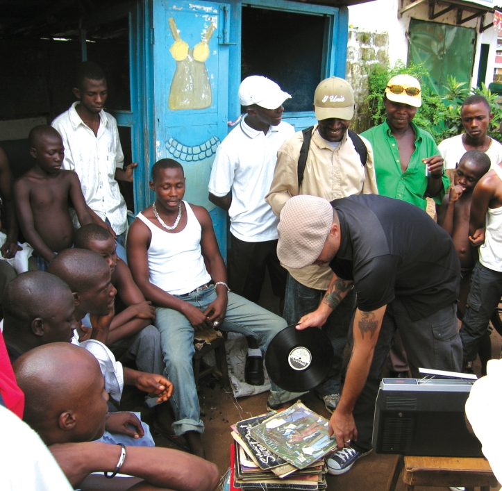 Frank in Freetown, Sierra Leone