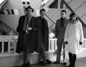 Charles Hayward, Stephen Rickard, Trefor Goronwy, and Maria Lamburn. Image courtesy of Camberwell Now