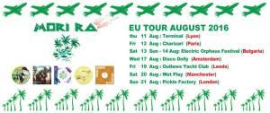 Mori EU tour